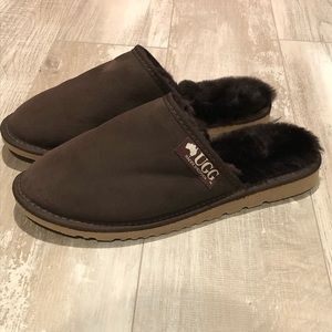 Ugg sheepskin slippers. Made in Australia